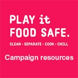 Play it Food Safe campaign logo