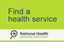 Find a health service on the National Health Services Directory